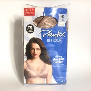 Playtex 18 Hour TS 4693 48C Wirefree Nude